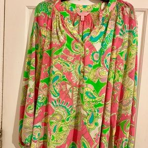 Lilly Pulitzer Size Large Elsa in Multi Chin Chin
